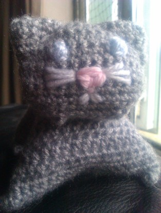 a clowder of crocheted cats to come. betterthanyoko.wordpress.com